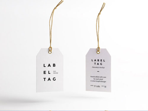 Label Tag | Mockup
